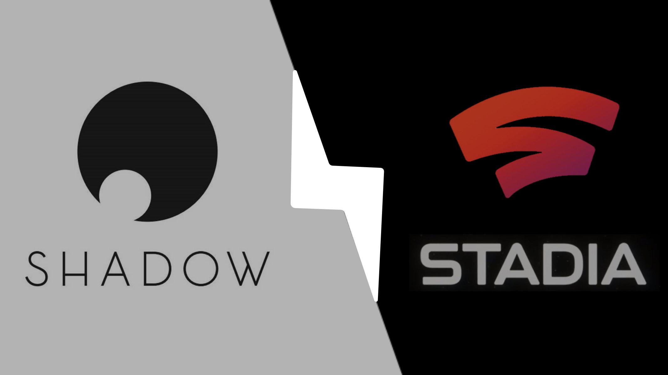 Shadow vs Google Stadia : catalogue, prix, performances et différences
