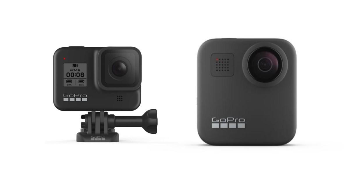 GoPro Hero8 Black et GoPro Max : officialisation, précommande et date de sortie
