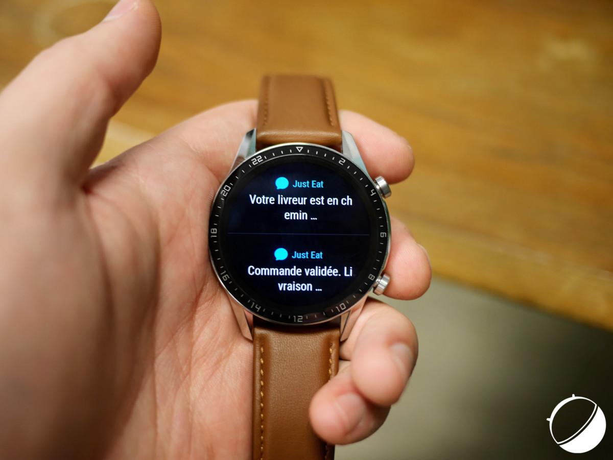 Les notifications de SMS sur la Watch GT 2