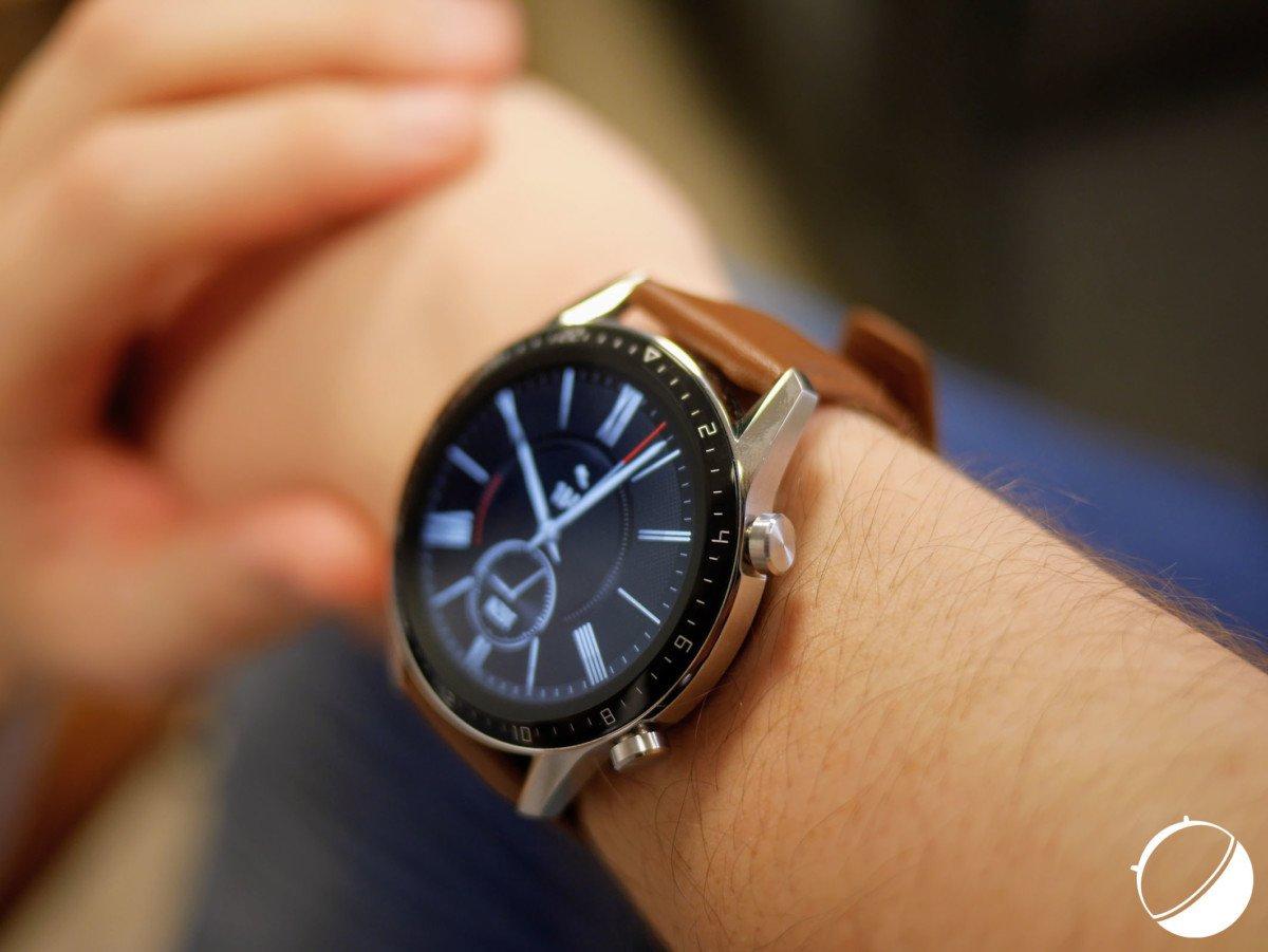 La montre Watch GT 2 de Huawei en format 46 mm