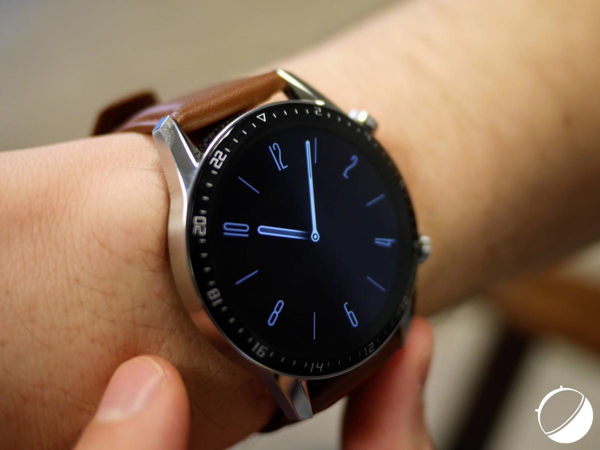 L'écran always on de la Huawei Watch GT 2