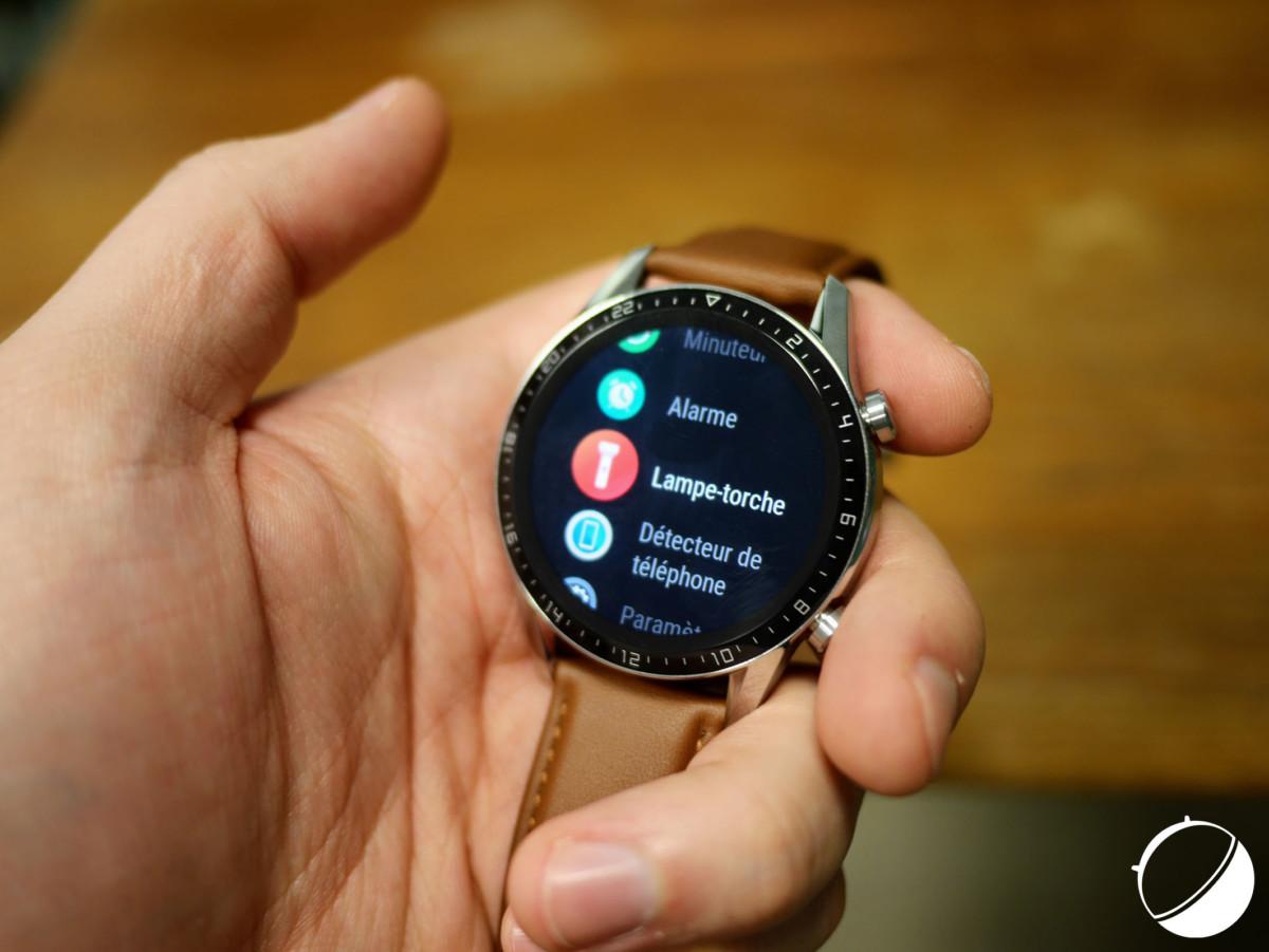 L'écran OLED de la Huawei Watch GT 2