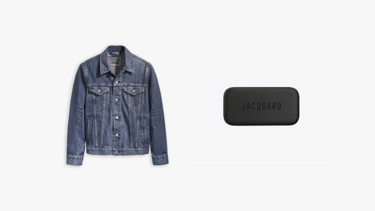 La veste Trucker et la puce Jacquard