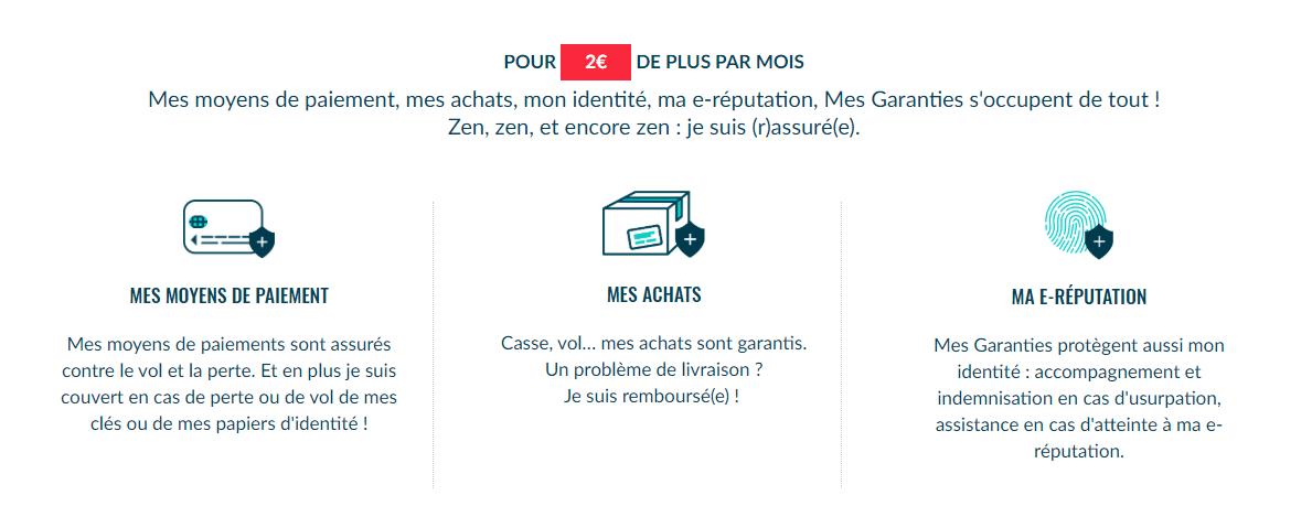 Ma French Bank n'est pas une banque gratuite. Les 2 euros par mois demandés sont justifiés par les diverses assurances et garanties incluses dans l'offre.