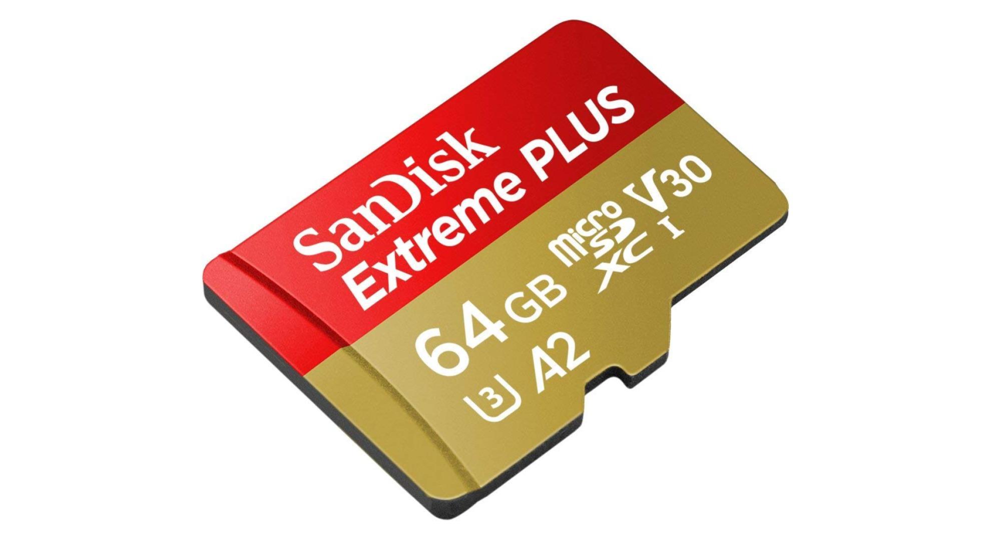 Parfaite pour filmer en 4K, la microSD compatible U3 et V30 passe à 17,99 euros