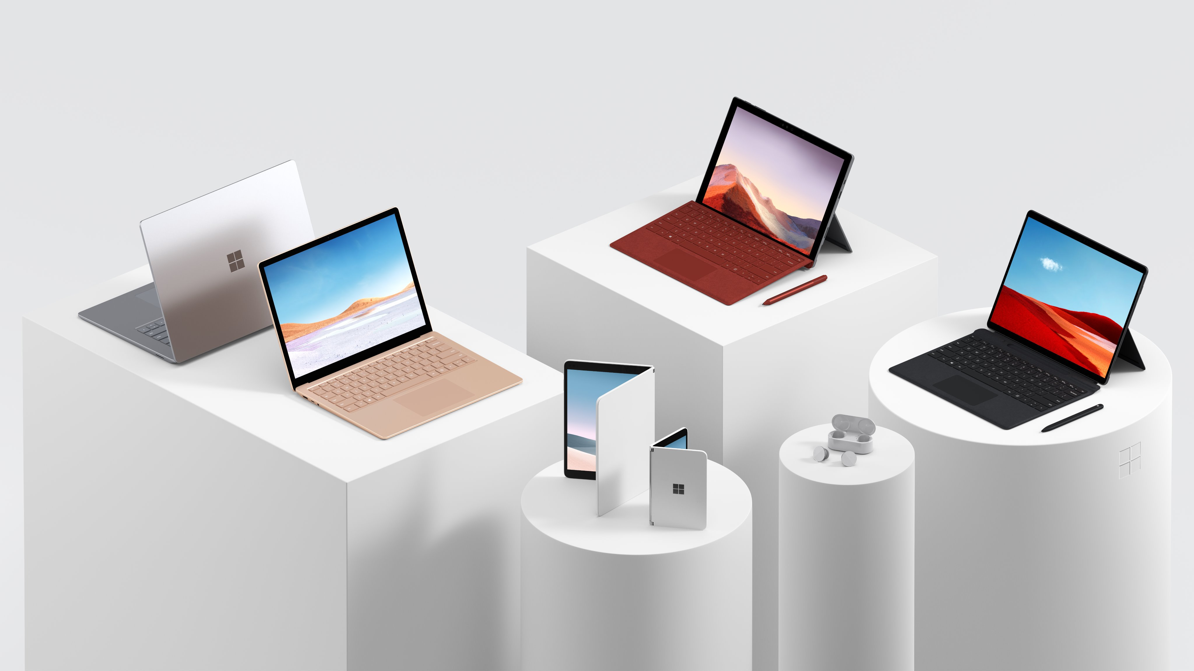 Microsoft propose aujourd'hui toute une gamme de produits Surface