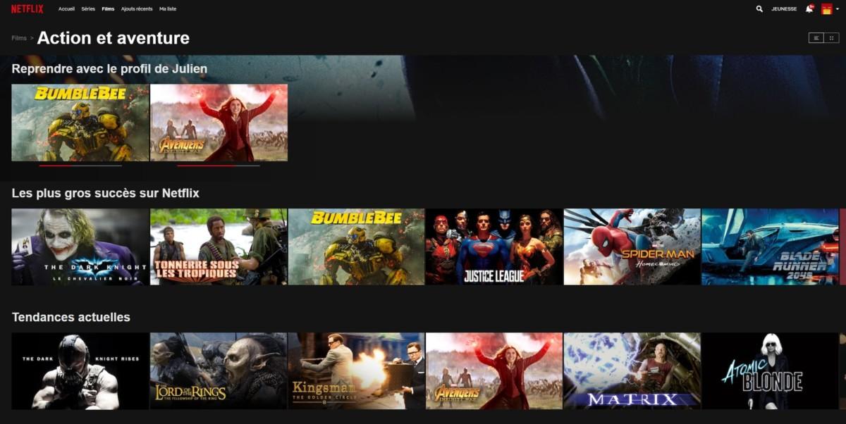 ExpressVPN est l'un des rares fournisseurs de VPN permettant l'accès au catalogue canadien de Netflix. Celui-ci est bien fourni… et propose des sous-titres francophones !