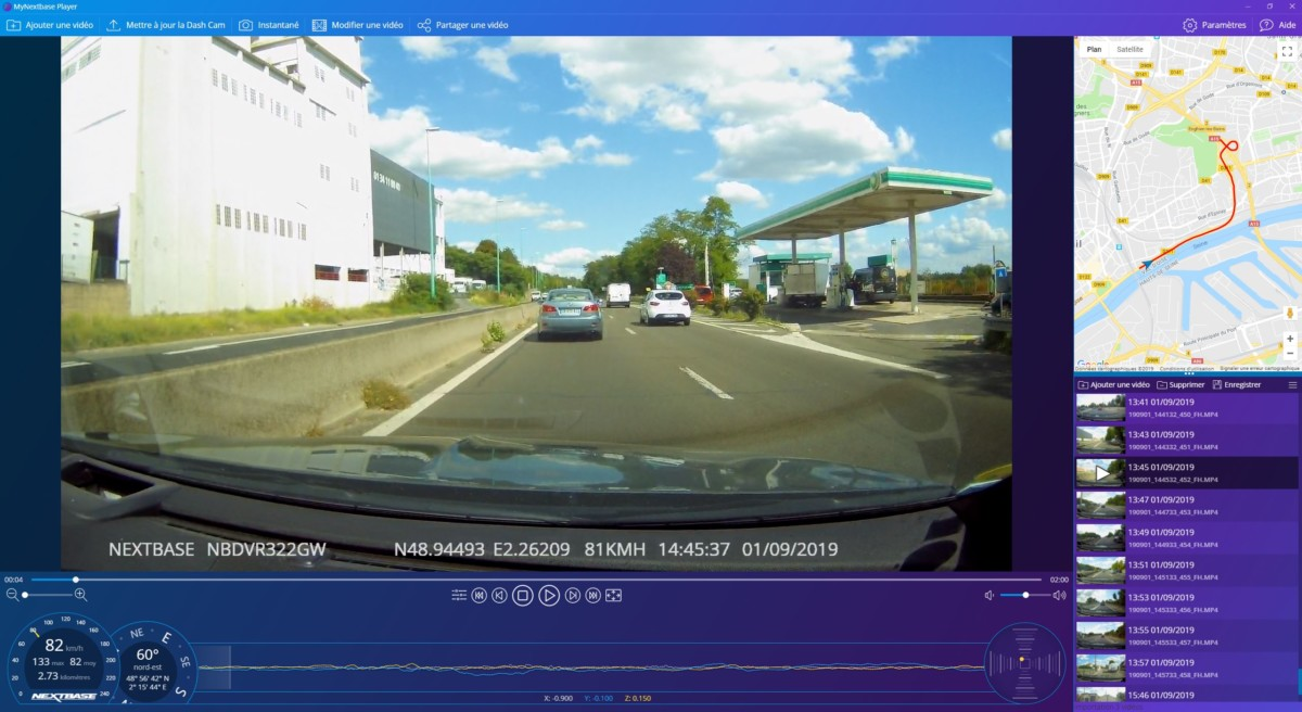 Test Nextbase 322GW, la dashcam qui peut prouver votre bonne conduite