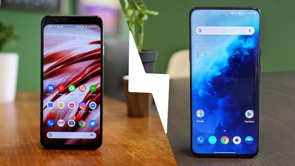 OnePlus 7T Pro VS Google Pixel 4 : lequel est le meilleur smartphone ? – Comparatif
