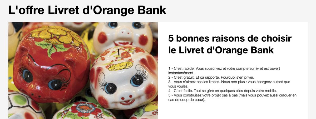 Orange Bank est l'une des rares néobanques à proposer un livret d'épargne.
