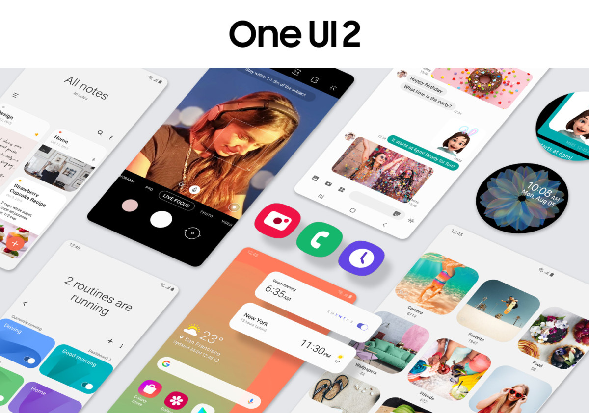 samsung one ui 2 0 1200x842 - Samsung One UI 2.0: here are the novelties of the interface described by the brand - FrAndroid