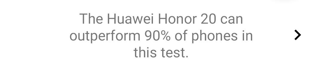 3DMark voit le Huawei Nova 5T comme un Honor 20