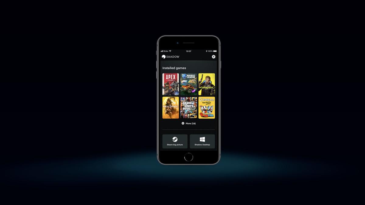 Shadow revoit son interface pour séduire les joueurs sur smartphone