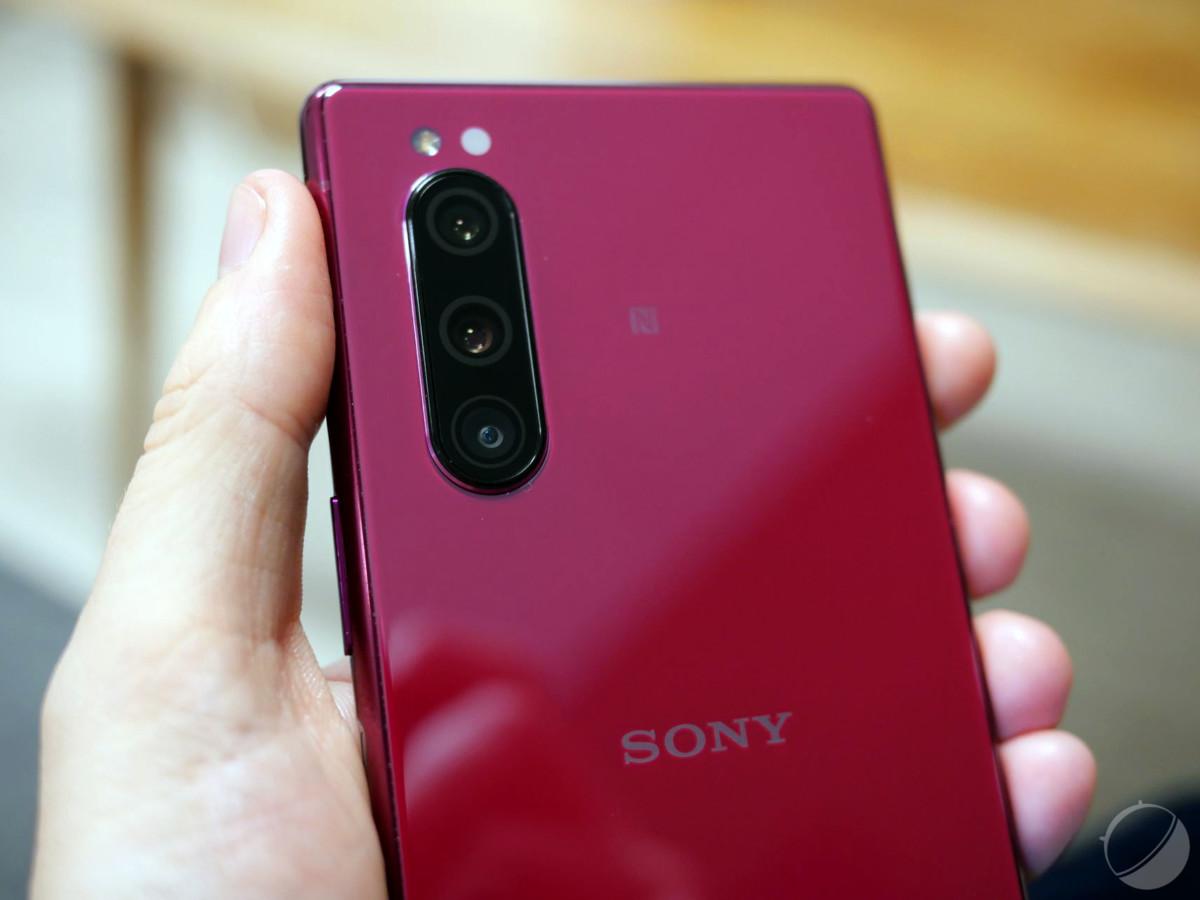 Le triple module photo du Sony Xperia 5