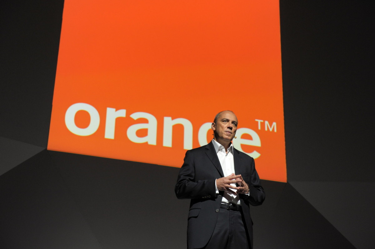 Stephane Richard PDG d'Orange