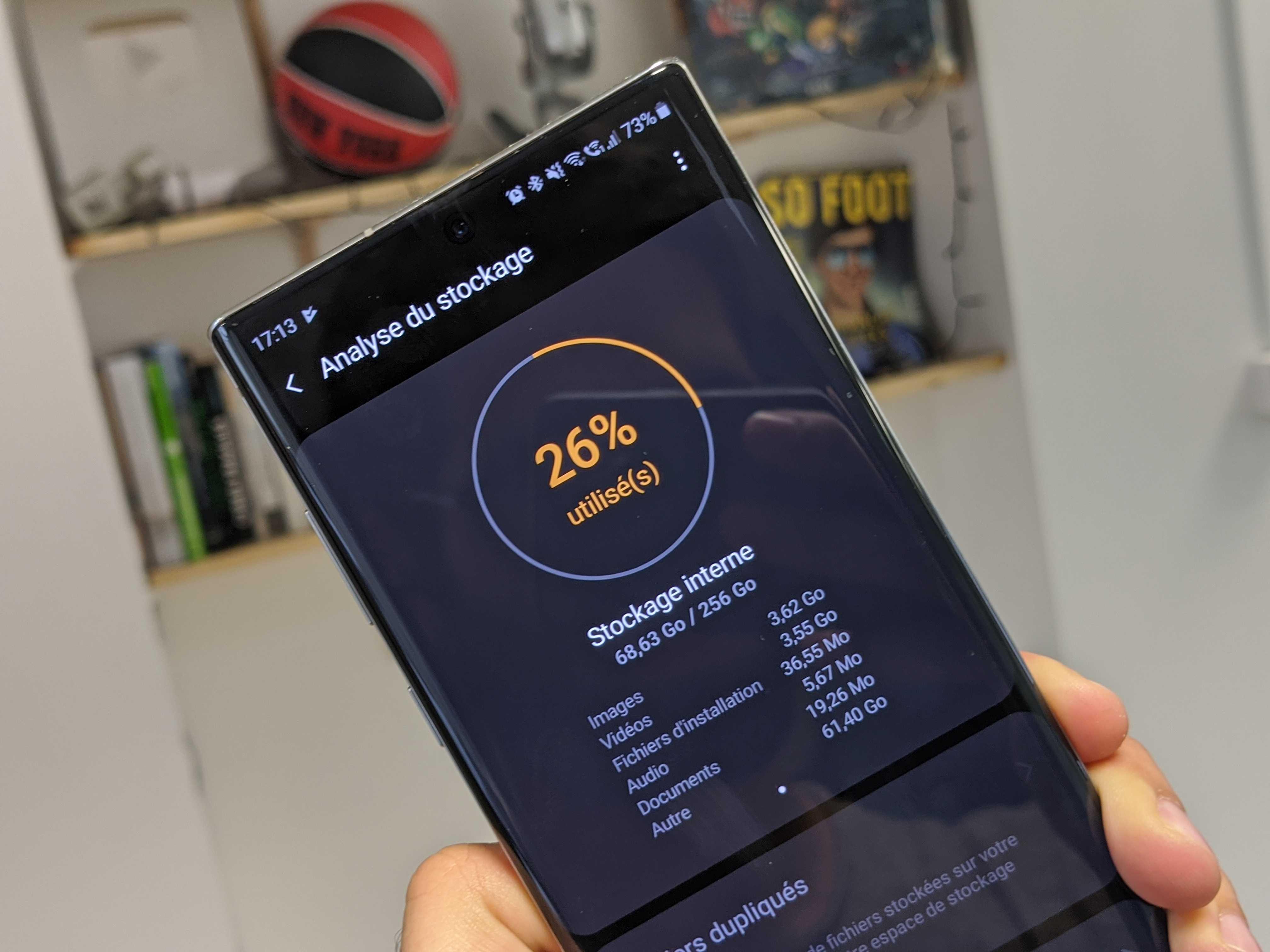 De combien d'espace de stockage avez-vous besoin sur votre smartphone ? – Sondage de la semaine
