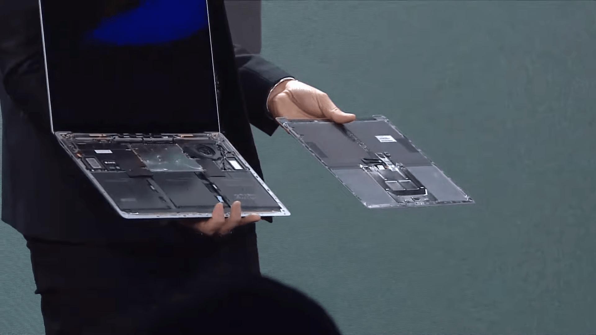 Surface Laptop 3 et Pro X : le stockage est amovible, mais pas par vous