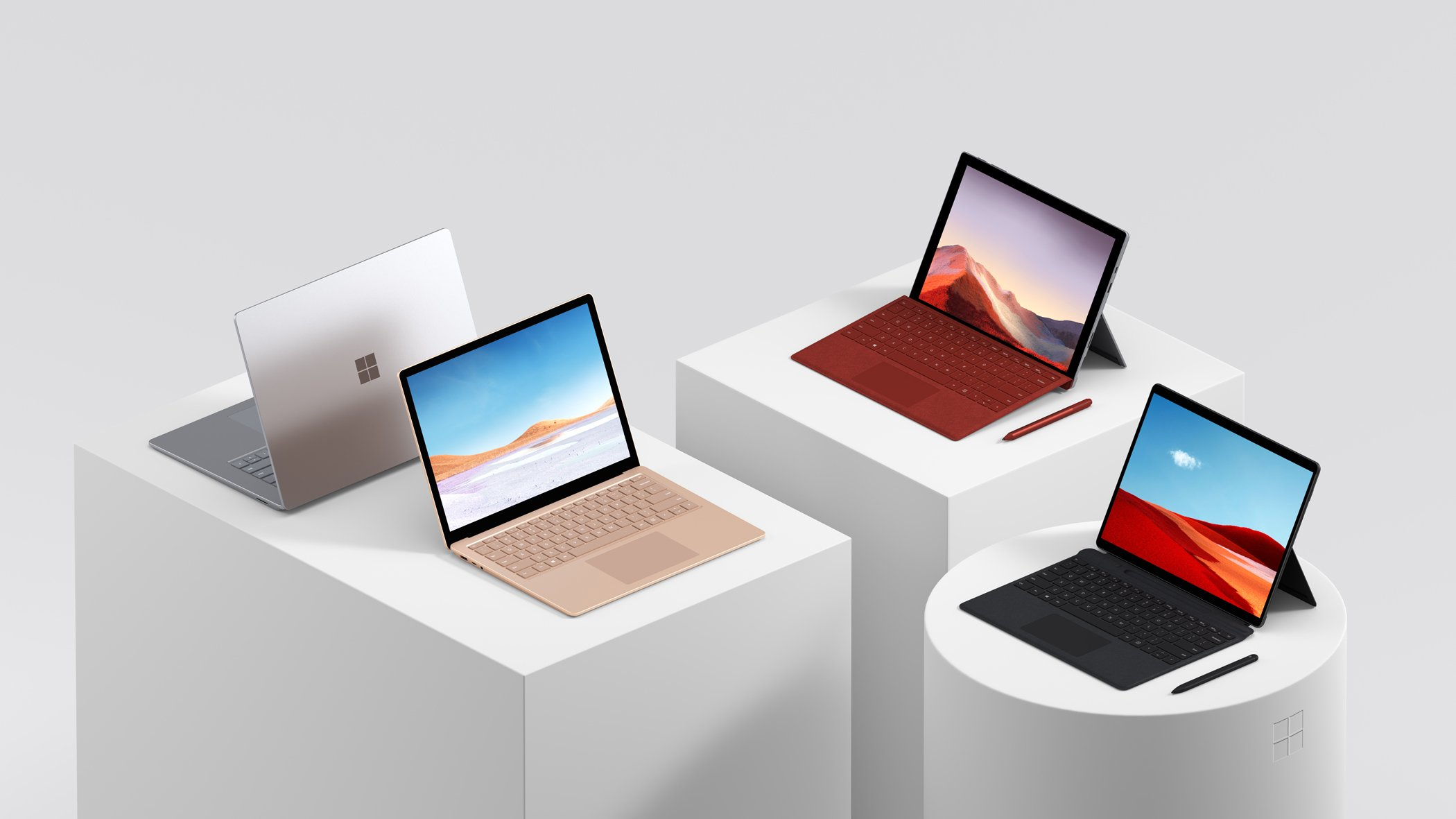 Microsoft France a dévoilé les dates de sortie et prix en euros des nouveaux appareils Surface pour la France.