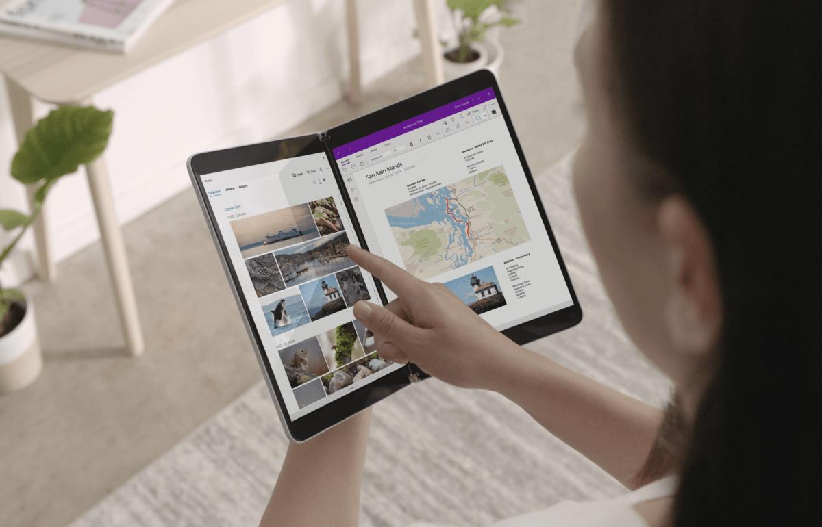 La Microsoft Surface Neo