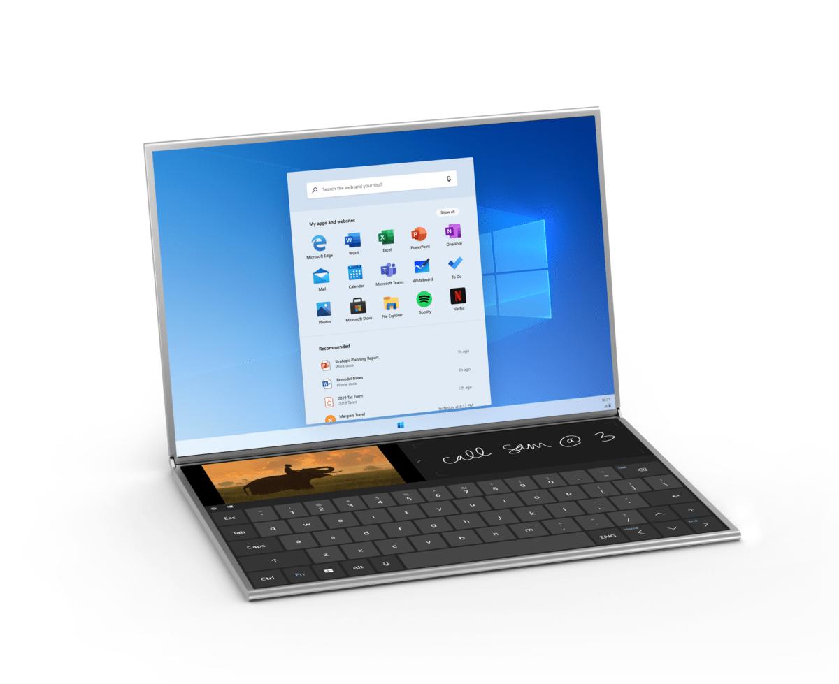 Windows 10 : voici le tout nouvel explorateur de fichiers de Windows 10X avec Onedrive intégré