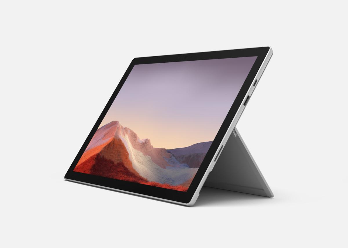 La Surface Pro7 est aussi une excellente alternative à un ultrabook.