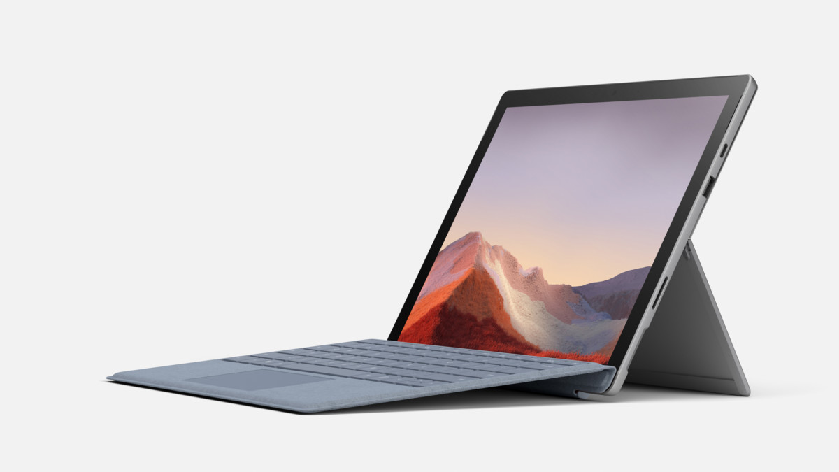 A priori, no design change for the Surface Pro 8, which should take the look of its ancestors