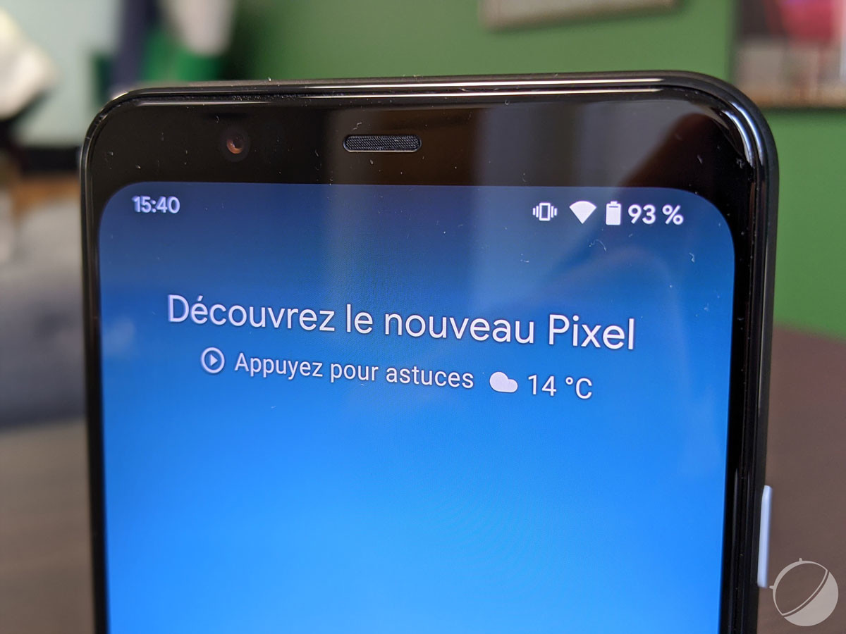 C'est ce qu'on appelle un smartphone bas du front