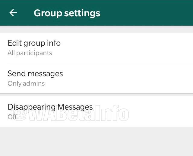 WhatsApp teste l'autodestruction des messages