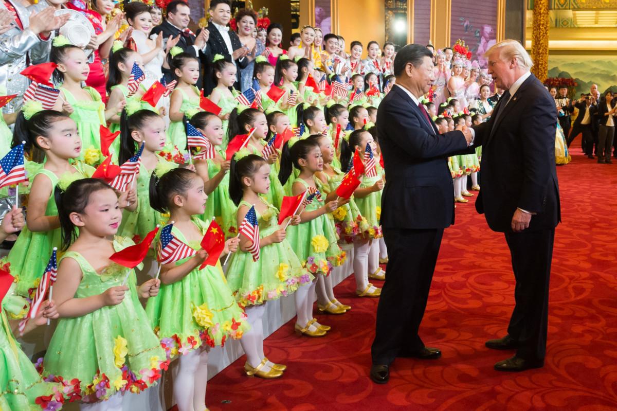 Les présidents Xi Jinping et Donald Trump (crédits image: La Maison-Blanche)