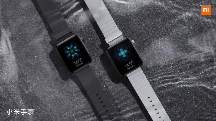 Image de la Mi Watch partagée par Lei Jun, patron de Xiaomi