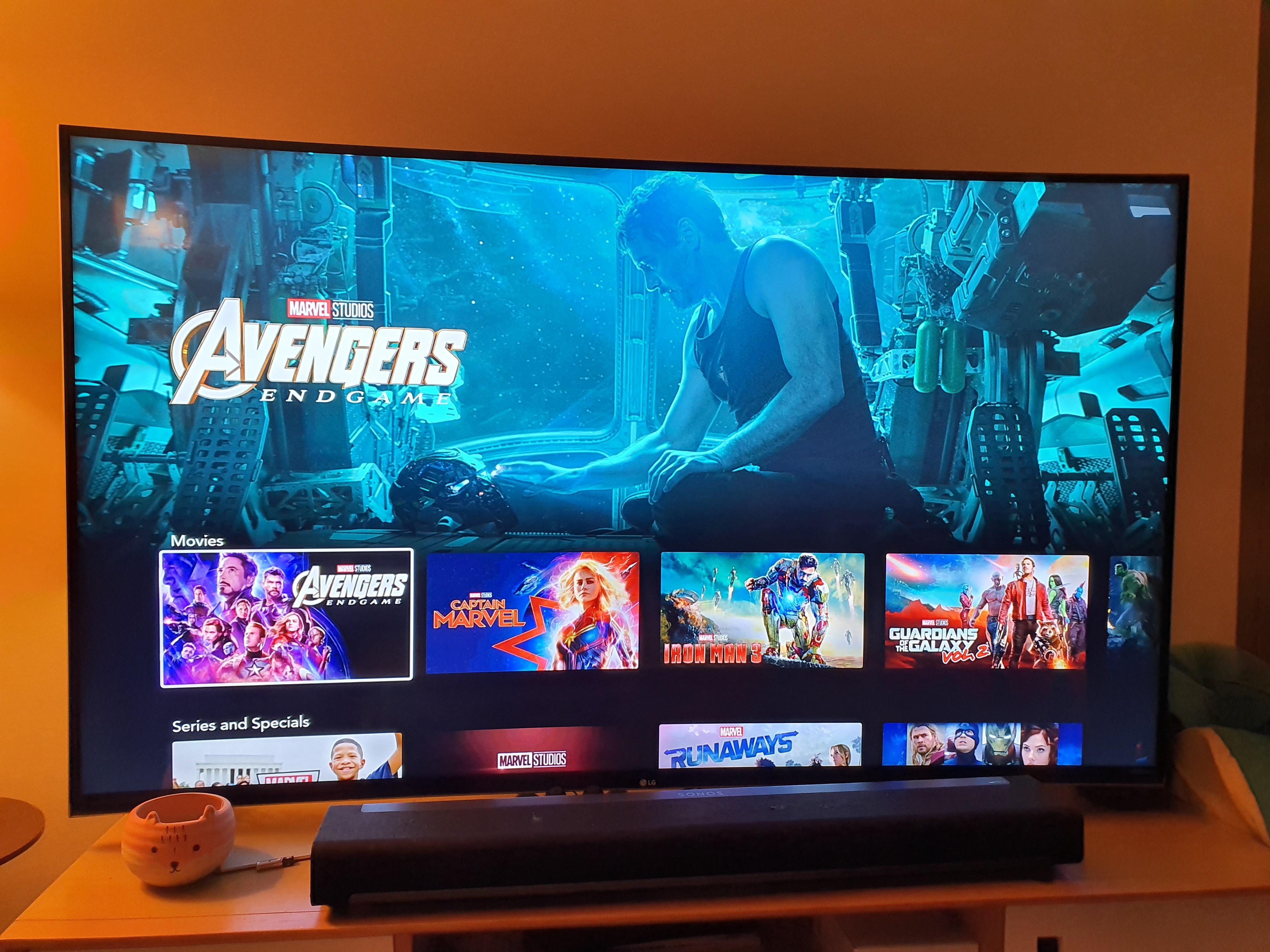 Disney+ sur Android TV, une Shield TV (2017)