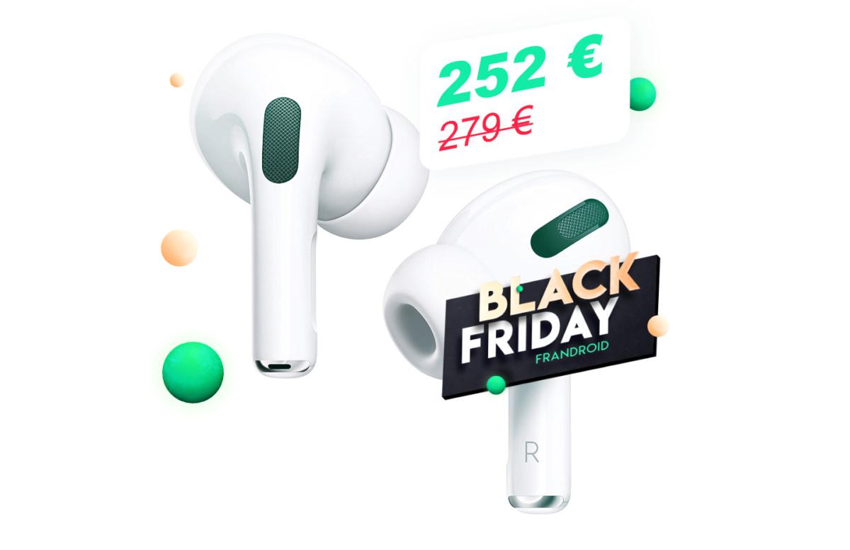 Pour le Black Friday, économisez 27€ sur les nouveaux Apple AirPods Pro