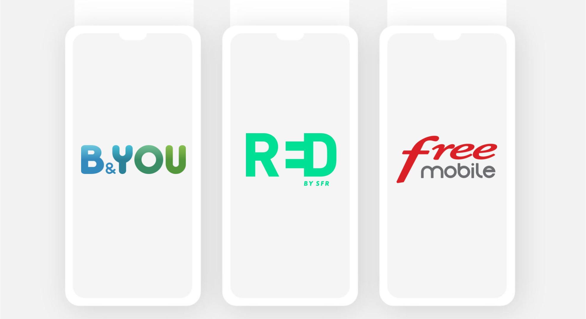 B&You, RED et Free : voici les meilleurs forfaits mobile sans engagement du jour