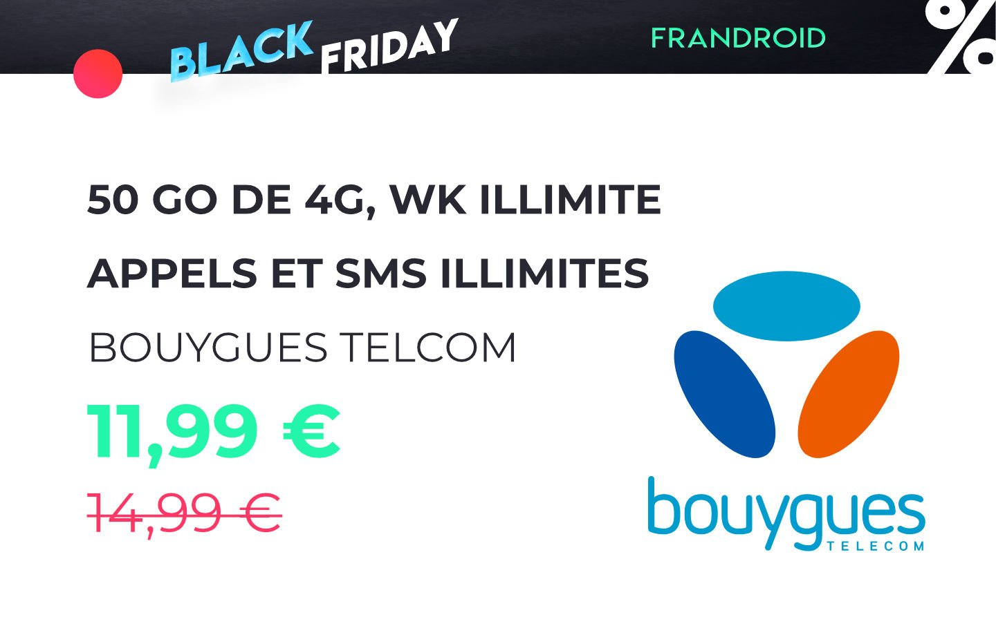 Black Friday : iPhone XR et Huawei P30 Pro à partir de 1€ chez SFR