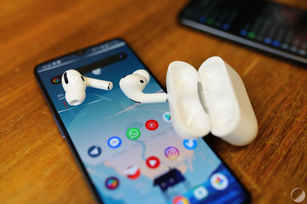 AirPods Pro et Android