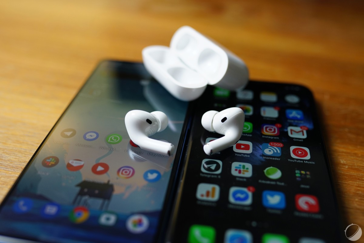 AirPods Pro, Android et iPhone