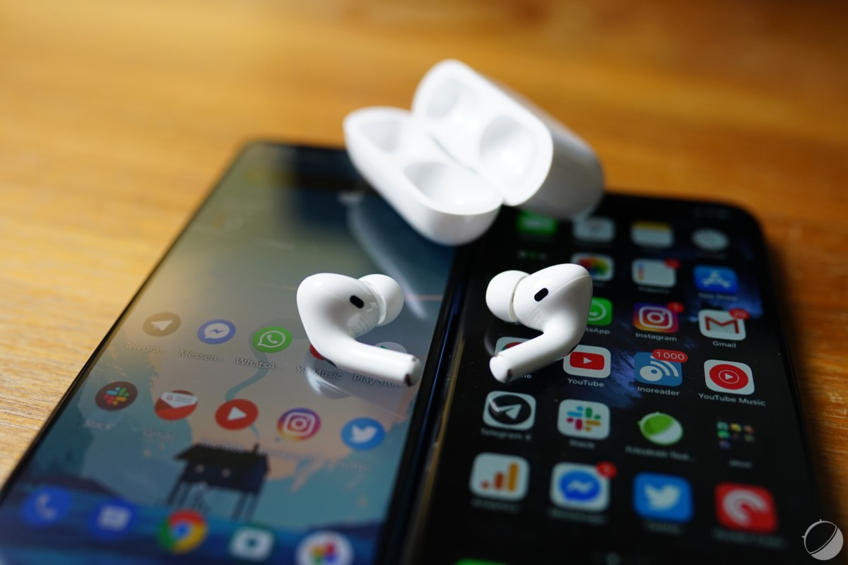 AirPods Pro, Android et iOS