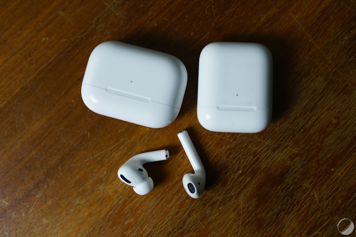AirPods Pro et AirPods