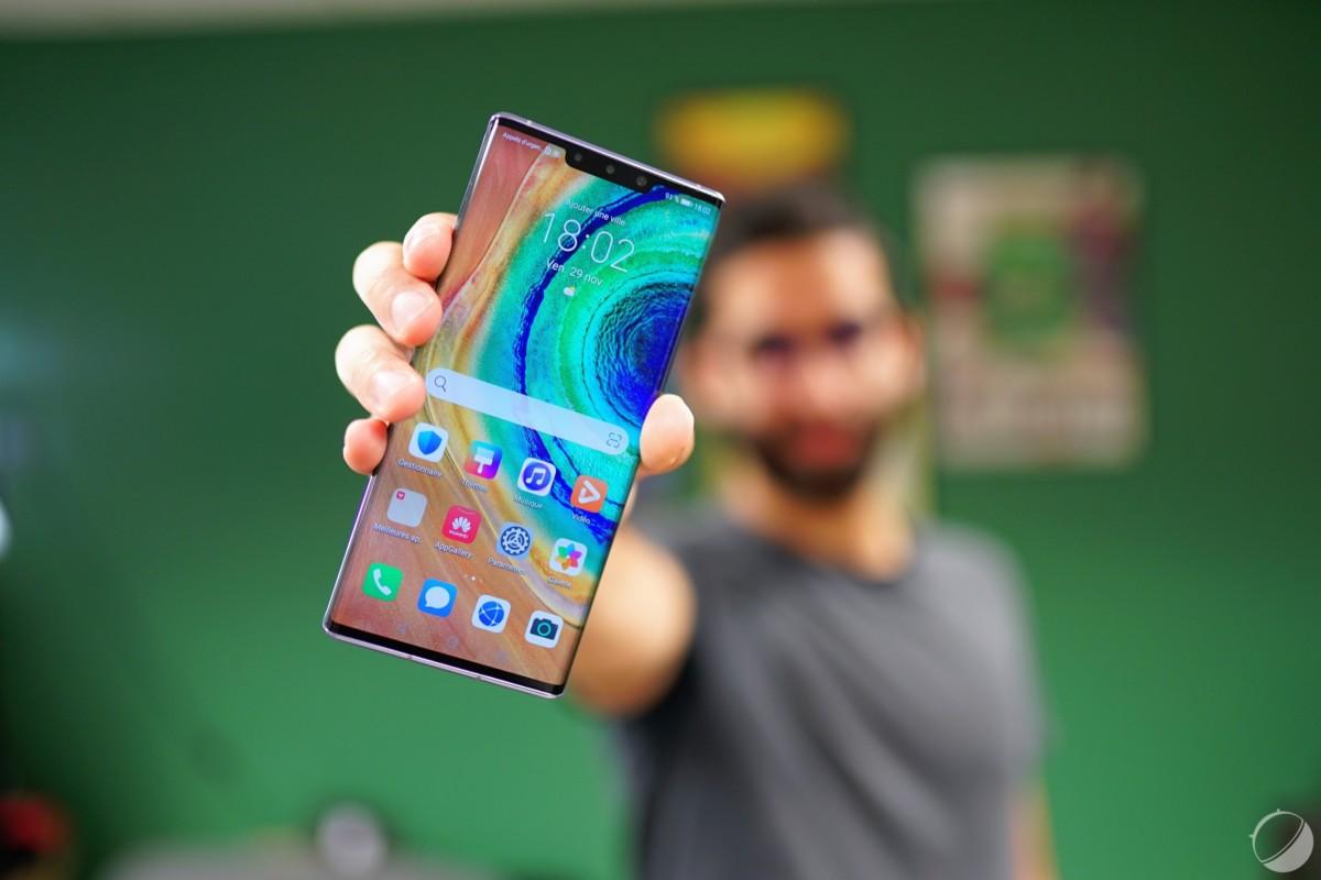 Le Huawei Mate 30 Pro débarque officiellement en France.