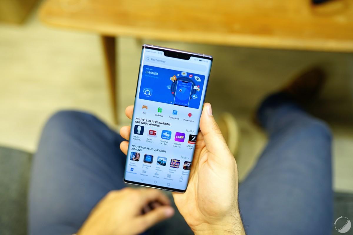 Huawei AppGallery, l'alternative au Play Store sur le Mate 30 Pro