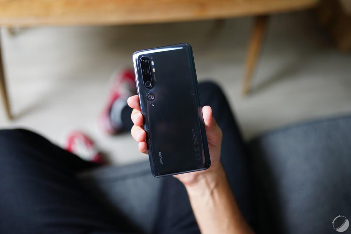 Xiaomi Mi Note10 pour illustration