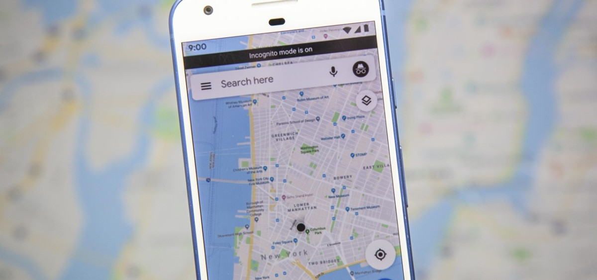 coming soon use incognito mode google maps keep your location searches navigation totally private 1280x600 1200x563 - Google Maps has its Incognito mode on Android: how to activate it?