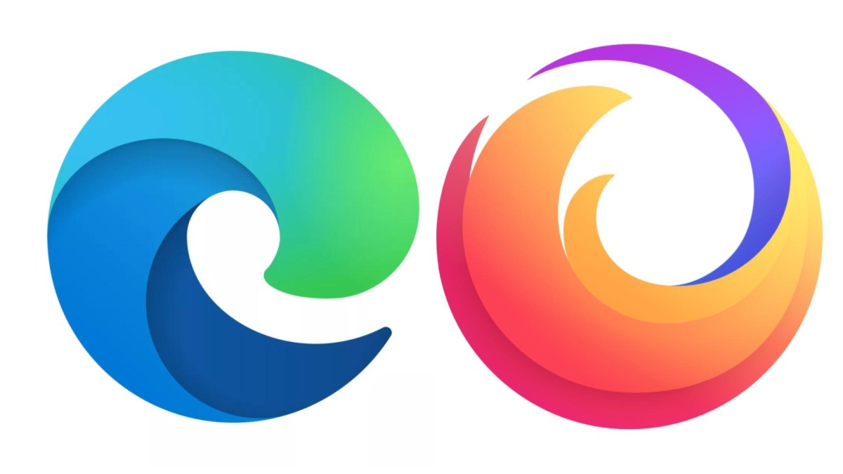 Le nouveau logo de Firefox à droite