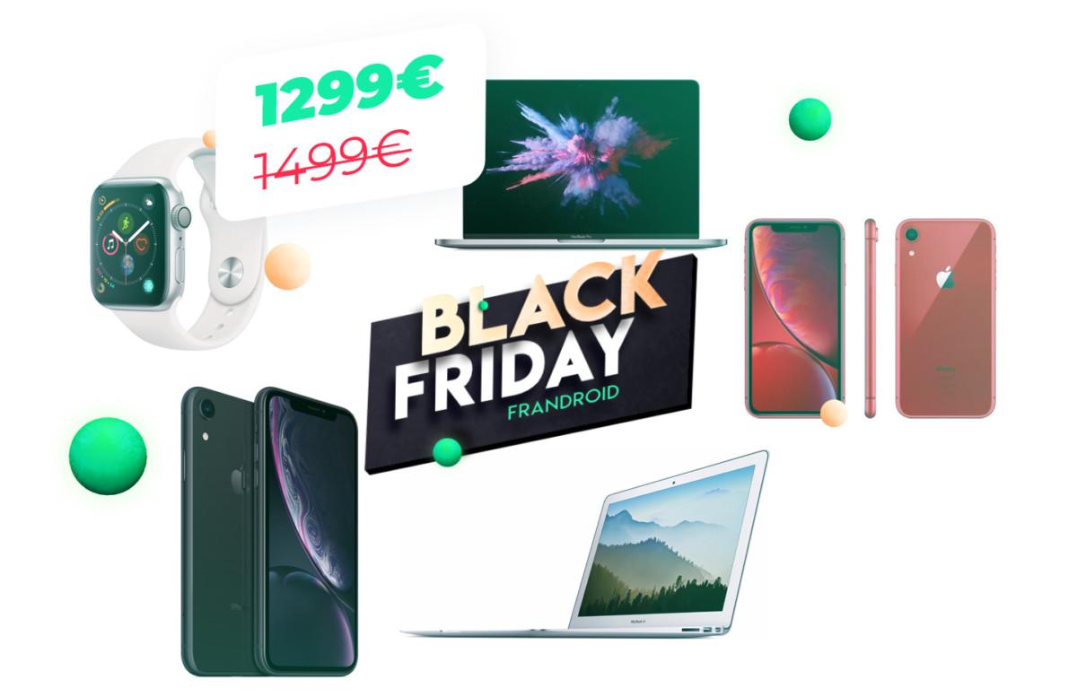 iPhone, MacBook Pro, AirPods : notre sélection Apple du Black Friday 2019