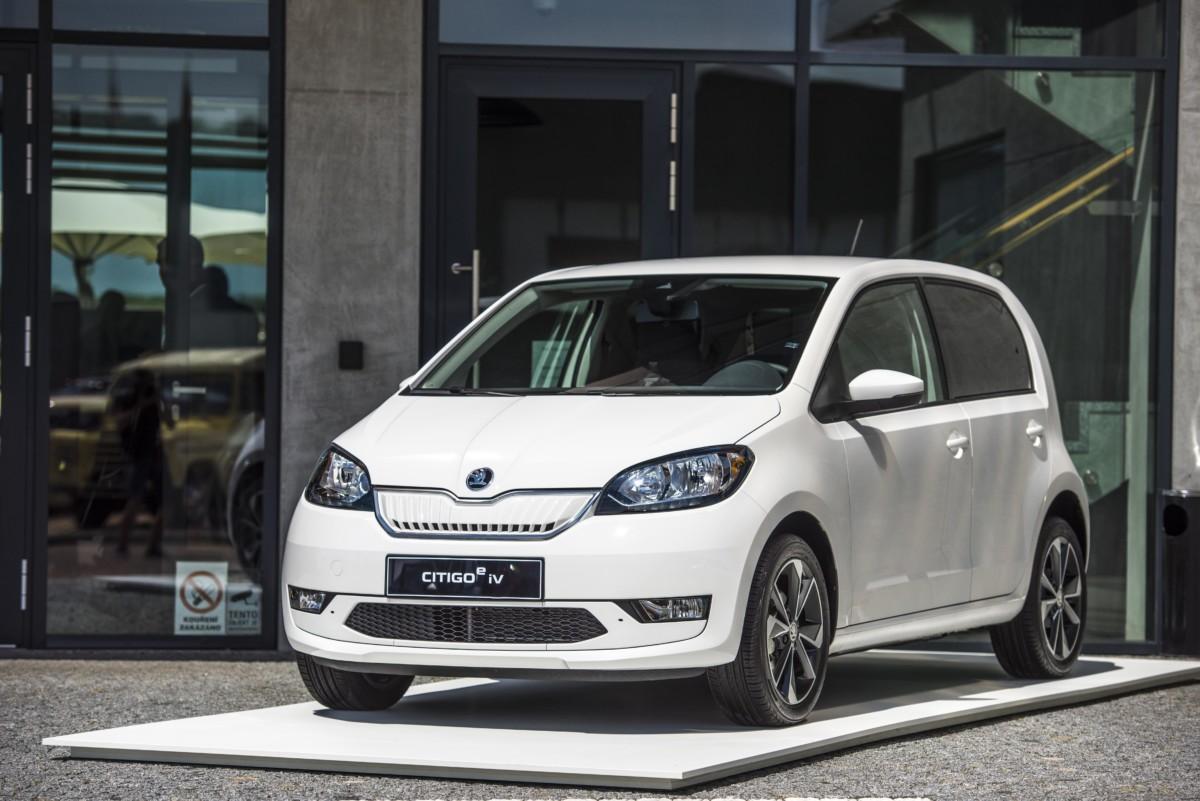 Škoda CITIGOe iV : une citadine électrique à 5832 € grâce aux aides financières