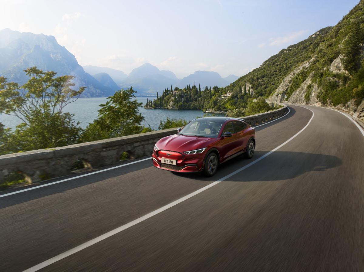 Le SUV électrique Ford Mustang Mach E