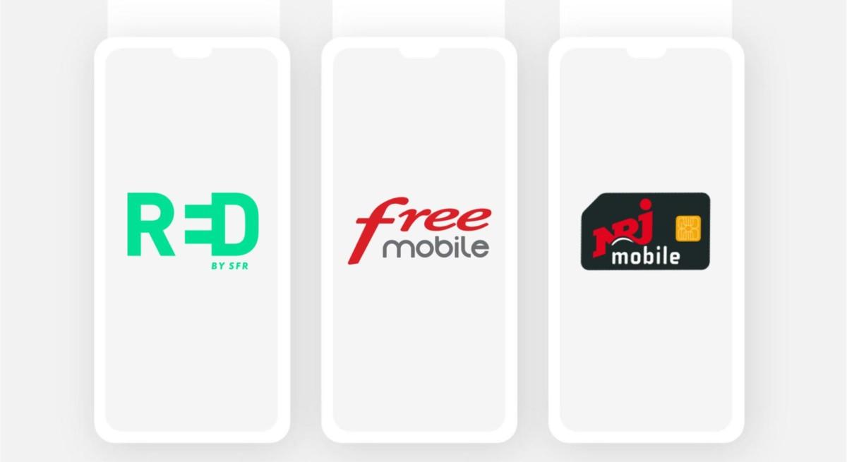 Forfait mobile : les offres RED, Free, NRJ mobile et Prixtel à petit prix jusqu'à ce soir