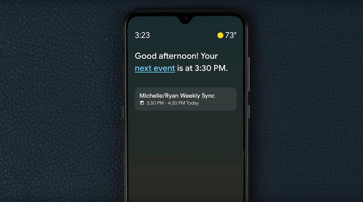 Google Assistant Ambient Mode bientôt déployé: votre smartphone devient le maître de la maison