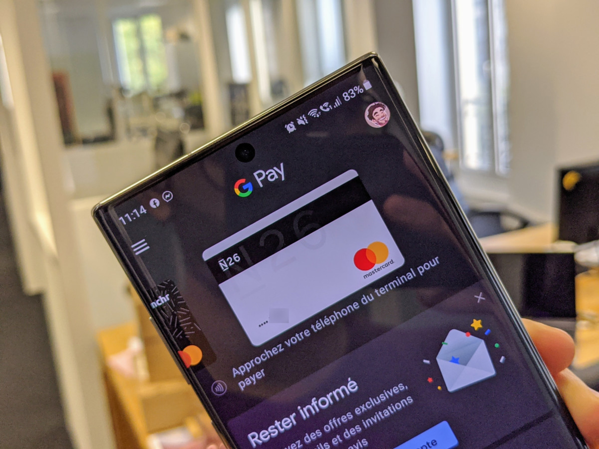 L'application Google Pay