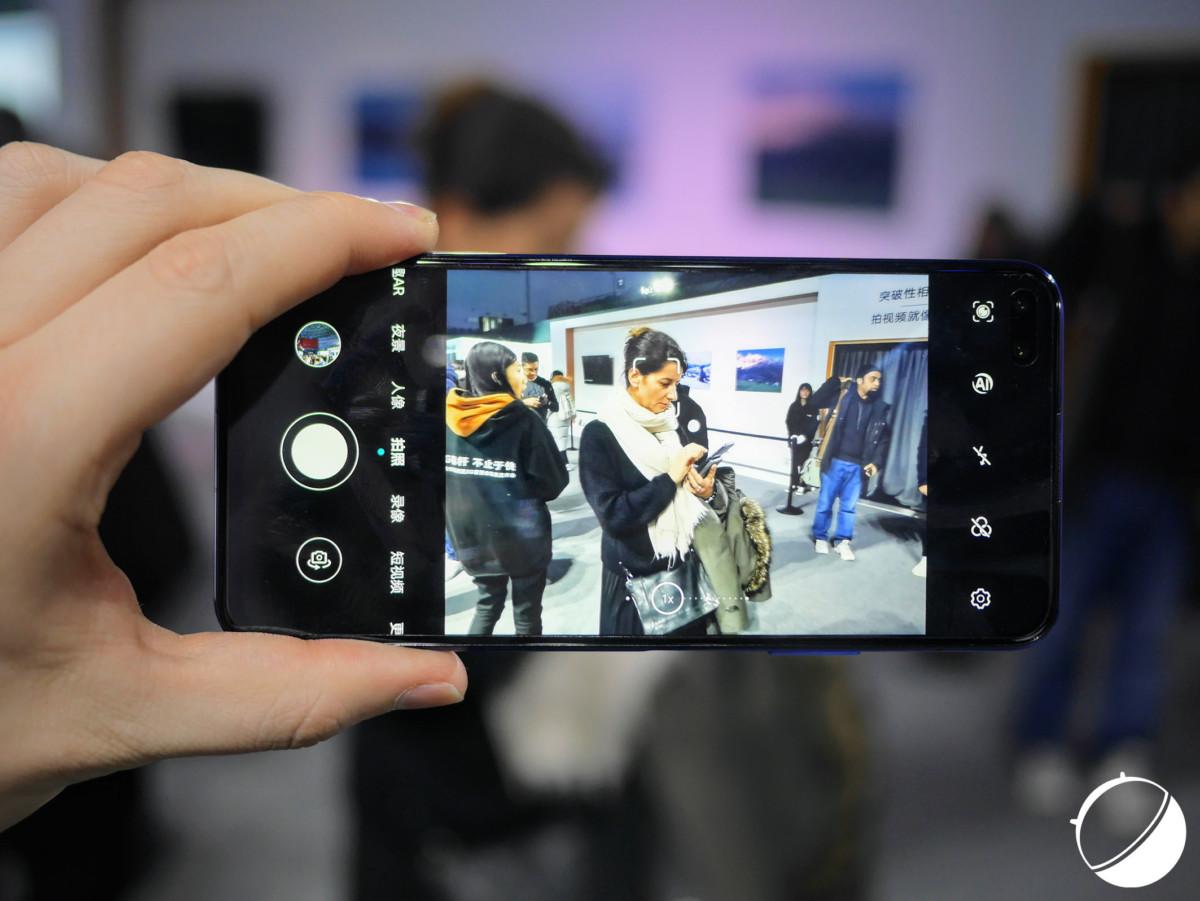 L'application photo du Honor View 30 Pro